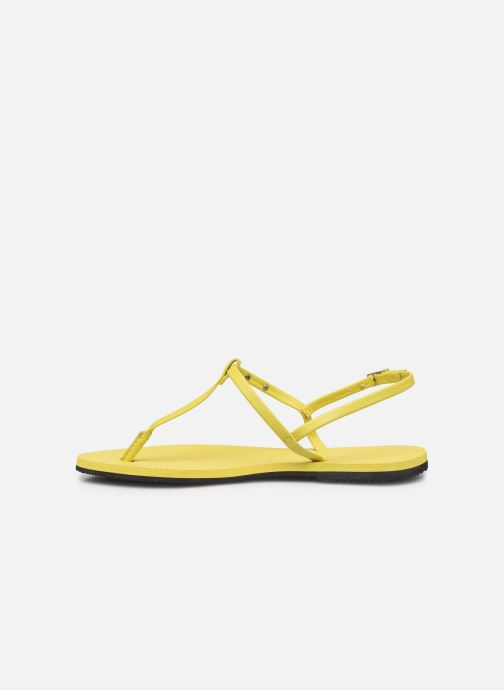 Sandales et nu-pieds Havaianas You Riviera Jaune vue face