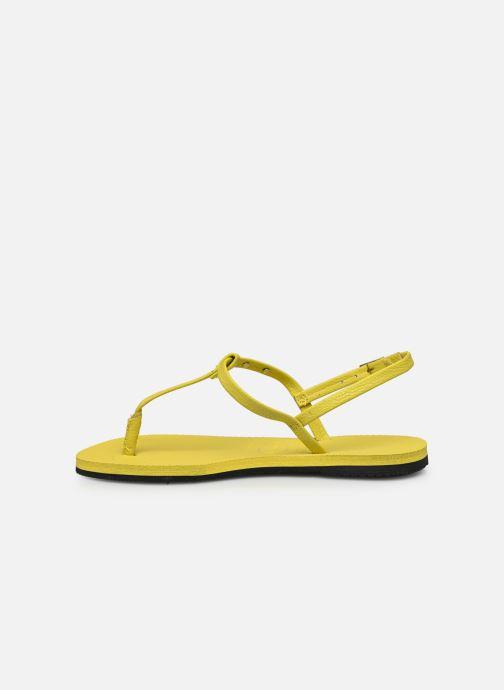 Sandali e scarpe aperte Havaianas You Riviera Giallo immagine frontale