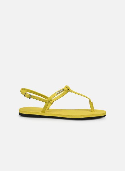 Sandales et nu-pieds Havaianas You Riviera Jaune vue derrière