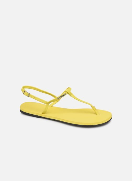 Sandales et nu-pieds Havaianas You Riviera Jaune vue détail/paire