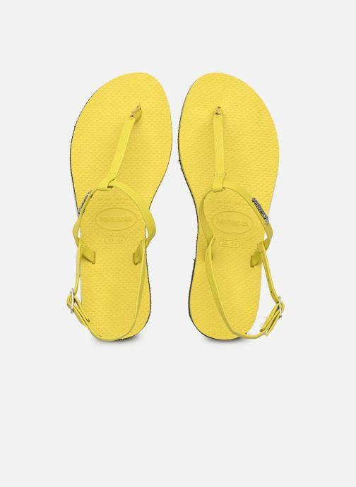 Sandali e scarpe aperte Havaianas You Riviera Giallo vedi dettaglio/paio