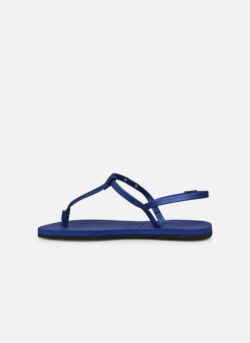 Sandali e scarpe aperte Havaianas You Riviera Azzurro immagine frontale