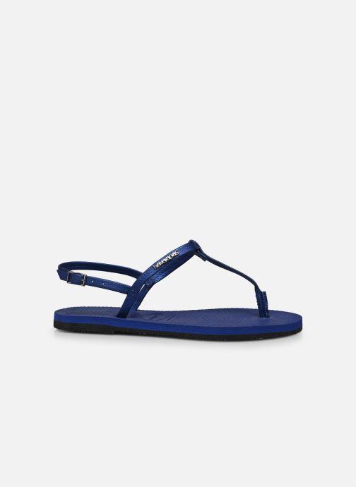 Sandales et nu-pieds Havaianas You Riviera Bleu vue derrière