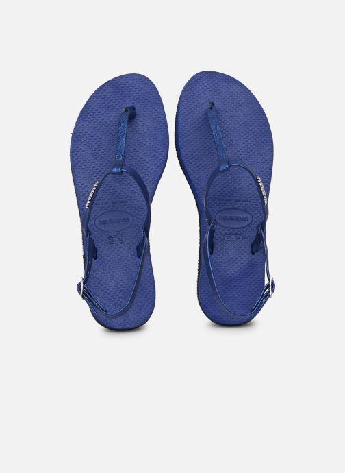 Sandali e scarpe aperte Havaianas You Riviera Azzurro vedi dettaglio/paio