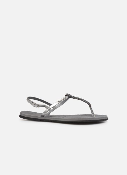 Sandals Havaianas You Riviera Silver back view