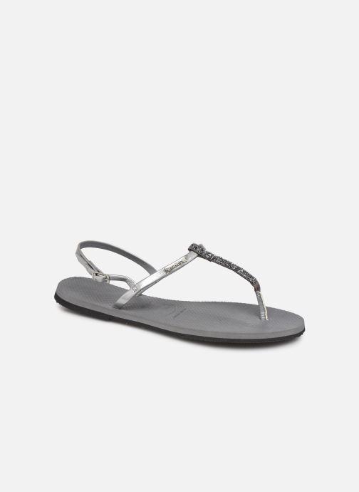 Sandales et nu-pieds Havaianas You Riviera Argent vue détail/paire