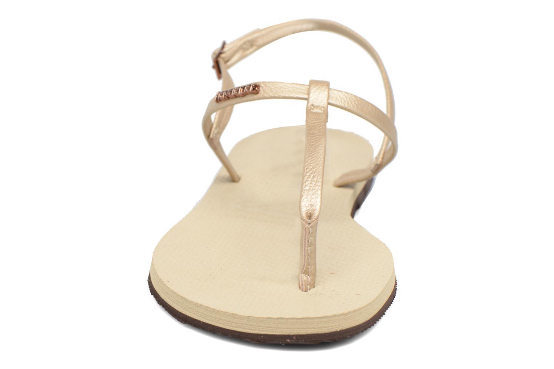 Sandals Havaianas You Riviera Beige model view