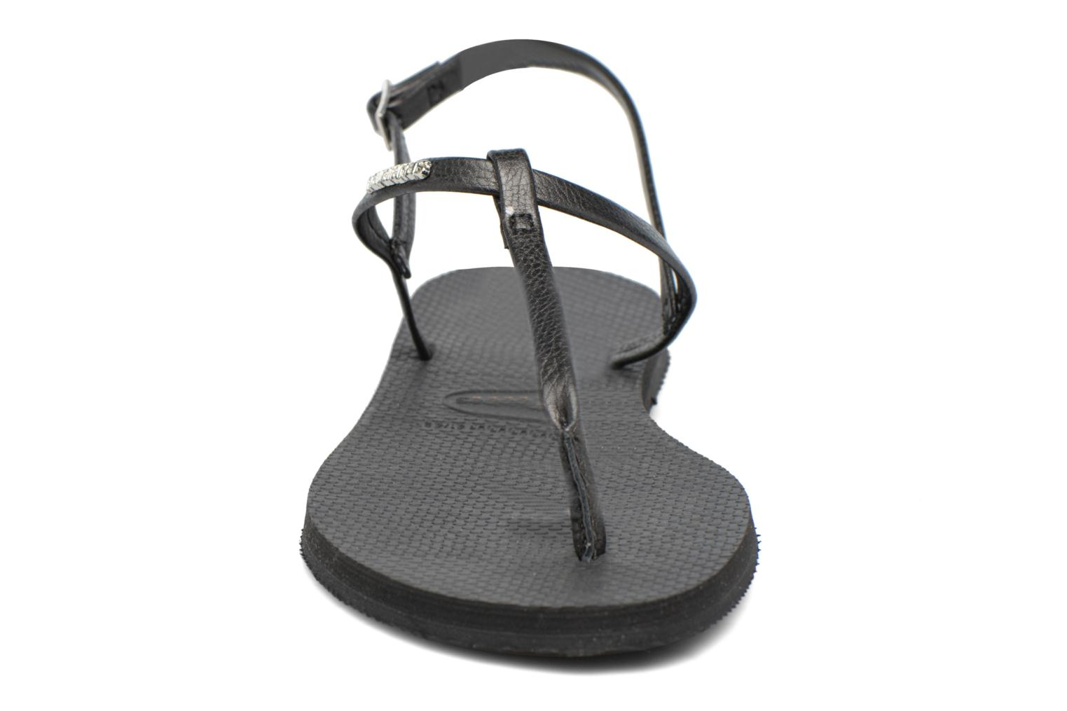 Sandals Havaianas You Riviera Black model view