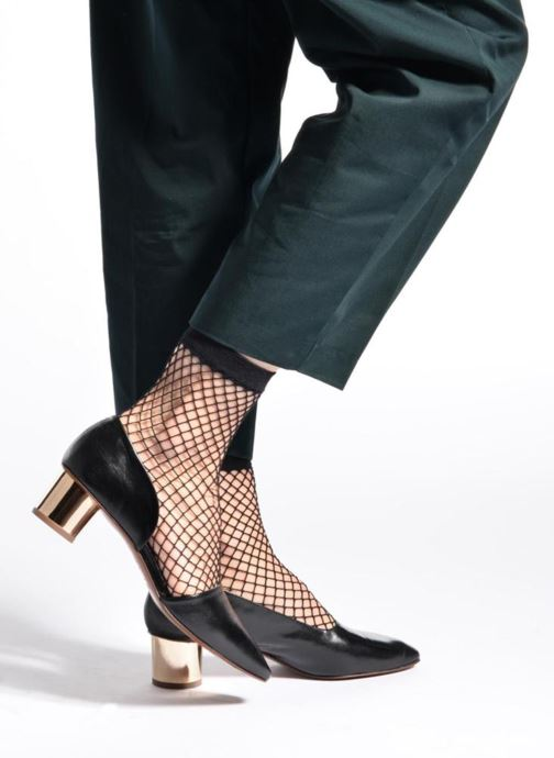 Zapatos de tacón BY FAR Karla Negro vista de abajo