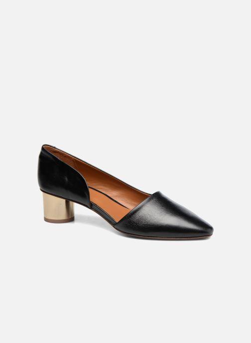 Høje hæle BY FAR Karla Sort detaljeret billede af skoene