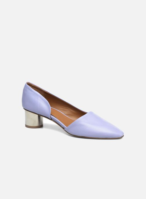 Høje hæle BY FAR Karla Blå detaljeret billede af skoene