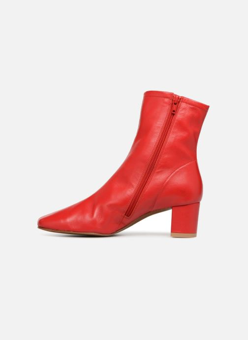 Ankle boots BY FAR Sofia Red front view
