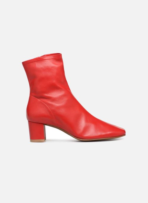 Ankle boots BY FAR Sofia Red back view