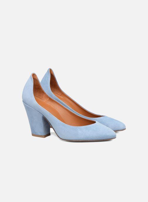 Zapatos de tacón BY FAR Niki Pump Azul vista 3/4