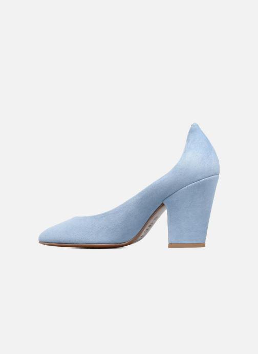 Zapatos de tacón BY FAR Niki Pump Azul vista de frente