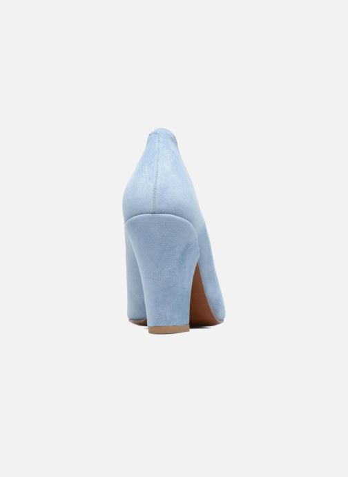 Zapatos de tacón BY FAR Niki Pump Azul vista lateral derecha