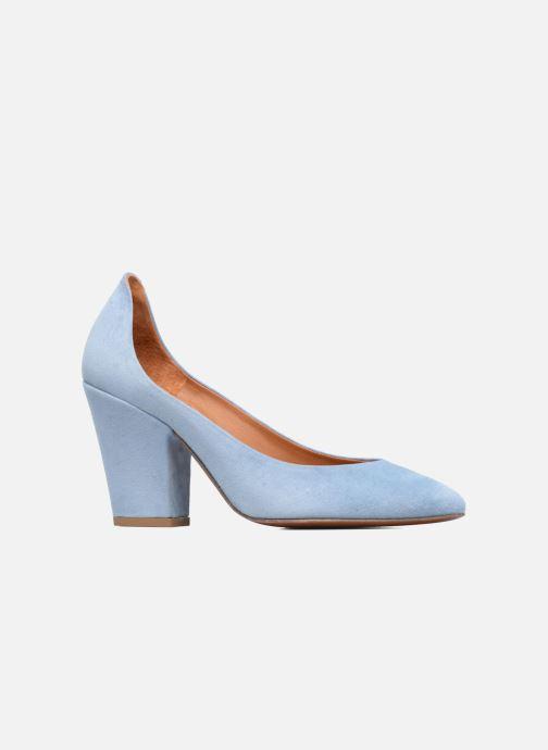 Zapatos de tacón BY FAR Niki Pump Azul vistra trasera