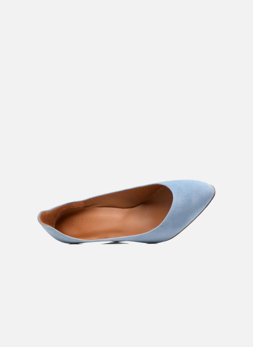 Zapatos de tacón BY FAR Niki Pump Azul vista lateral izquierda