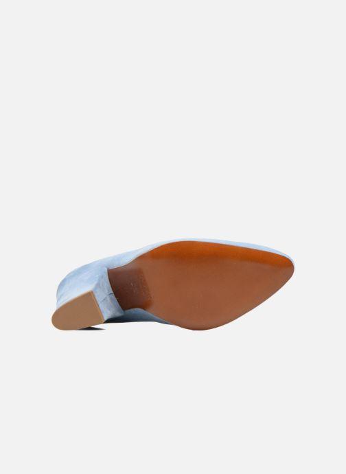 Zapatos de tacón BY FAR Niki Pump Azul vista de arriba