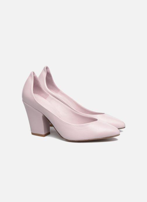 Zapatos de tacón BY FAR Niki Pump Violeta      vista 3/4