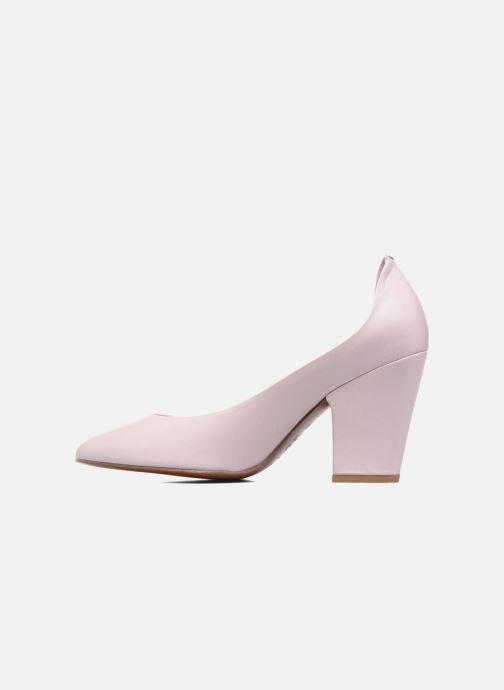Zapatos de tacón BY FAR Niki Pump Violeta      vista de frente