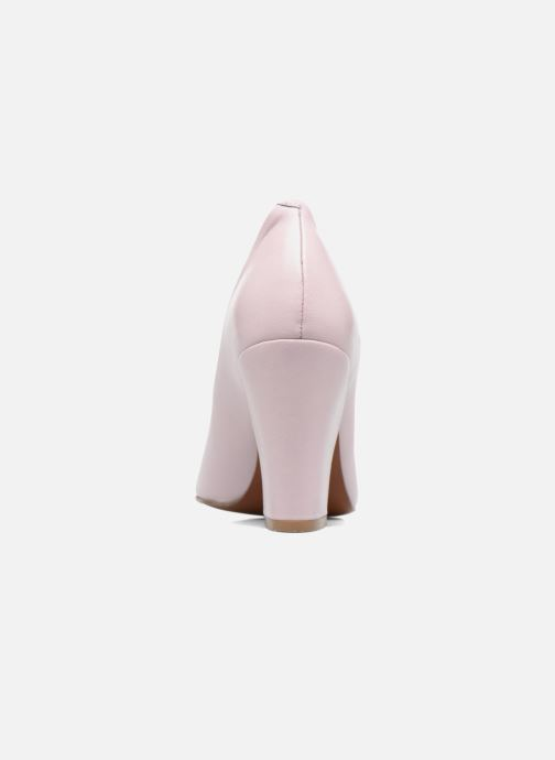 Escarpins BY FAR Niki Pump Violet vue droite