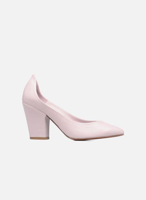 Zapatos de tacón BY FAR Niki Pump Violeta      vistra trasera