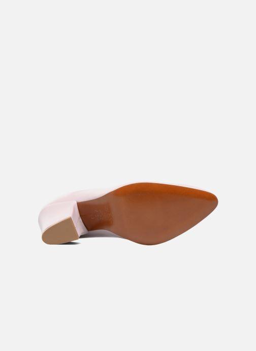 Zapatos de tacón BY FAR Niki Pump Violeta      vista de arriba