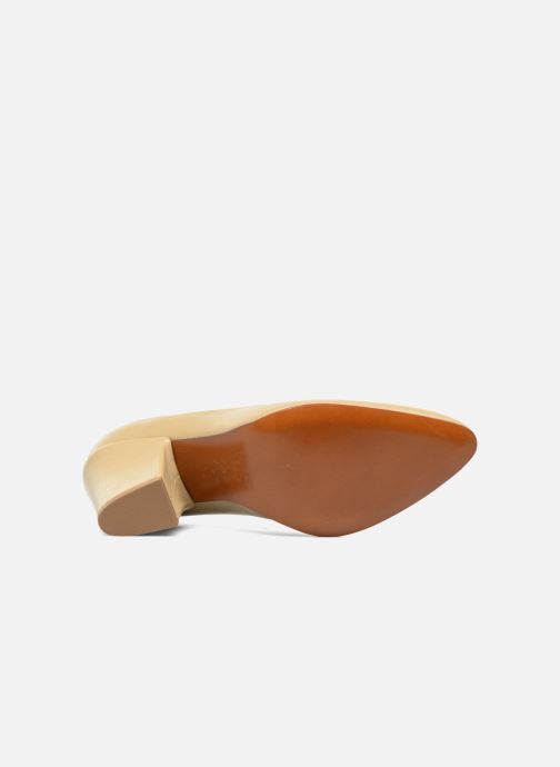 Zapatos de tacón BY FAR Niki Pump Beige vista de arriba