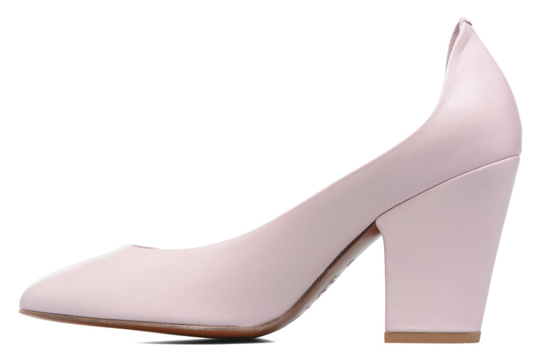 High heels By Far Niki Pump Purple front view