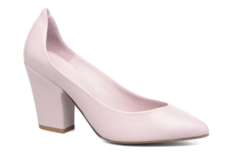 High heels By Far Niki Pump Purple detailed view/ Pair view