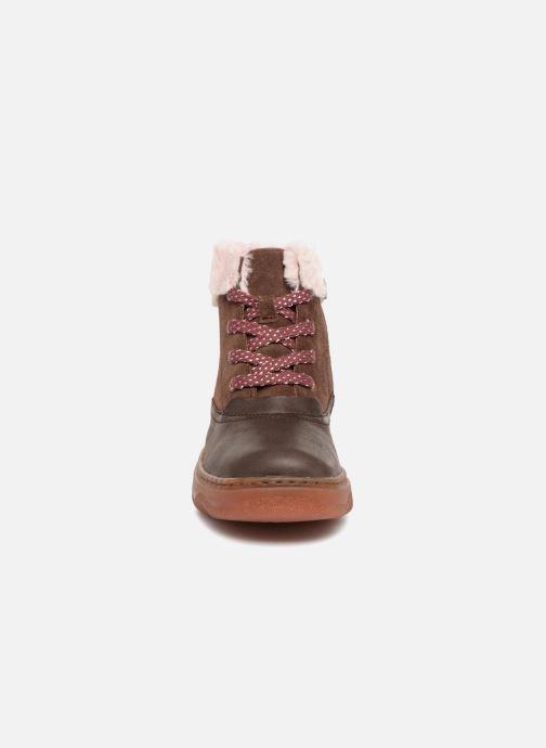 Bottines et boots Camper Kido 2 Marron vue portées chaussures