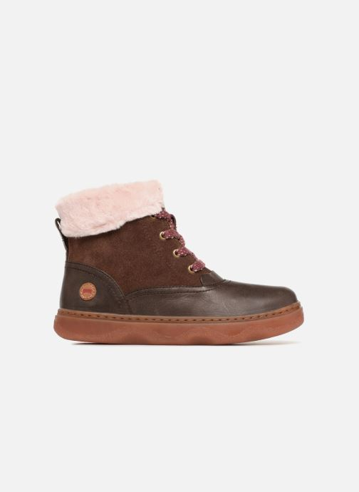 Ankle boots Camper Kido 2 Brown back view