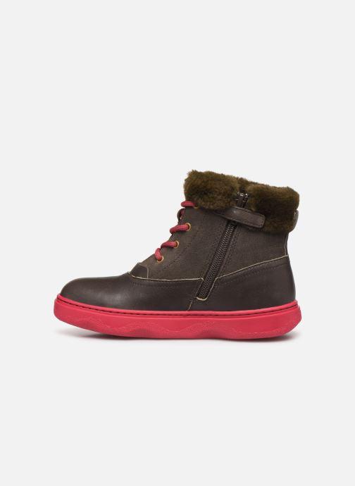 Boots en enkellaarsjes Camper Kido 2 Bruin voorkant