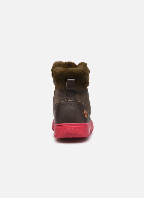 Boots en enkellaarsjes Camper Kido 2 Bruin rechts