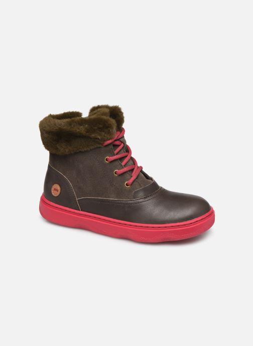 Boots en enkellaarsjes Camper Kido 2 Bruin detail
