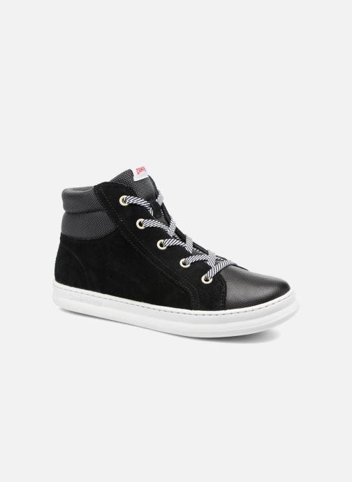 Sneakers Camper Runner Four Zwart detail