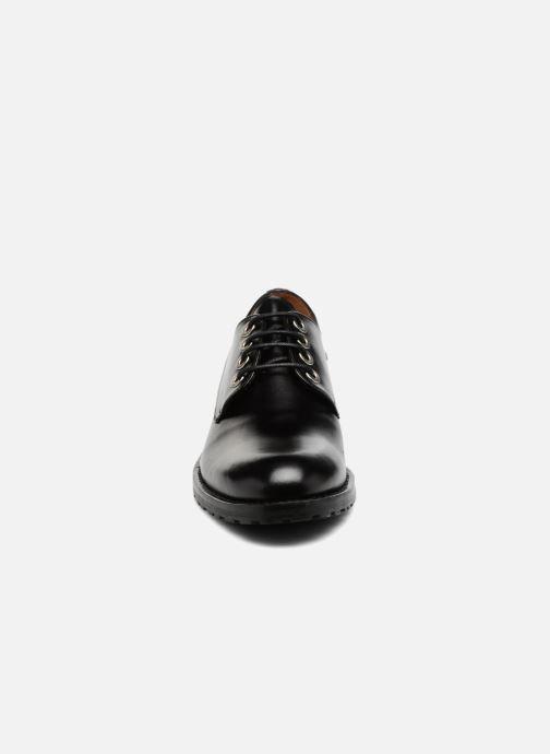 Chaussures à lacets Georgia Rose Toeillet Noir vue portées chaussures