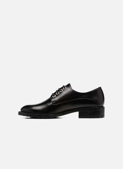Chaussures à lacets Georgia Rose Toeillet Noir vue face
