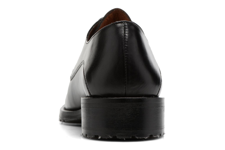 Chaussures à lacets Georgia Rose Toeillet Noir vue droite