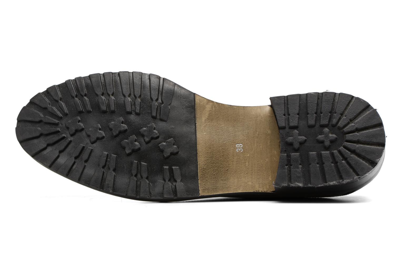 Chaussures à lacets Georgia Rose Toeillet Noir vue haut