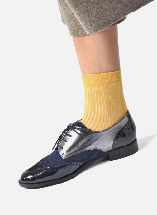 Chaussures à lacets Georgia Rose Tritrou Noir vue bas / vue portée sac