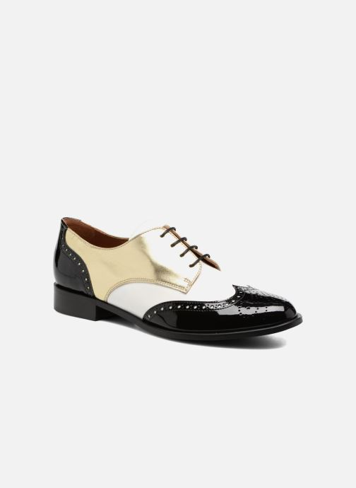 Chaussures à lacets Georgia Rose Tritrou Noir vue détail/paire