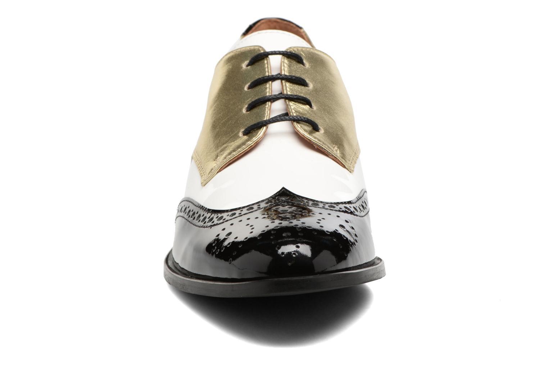 Chaussures à lacets Georgia Rose Tritrou Noir vue portées chaussures