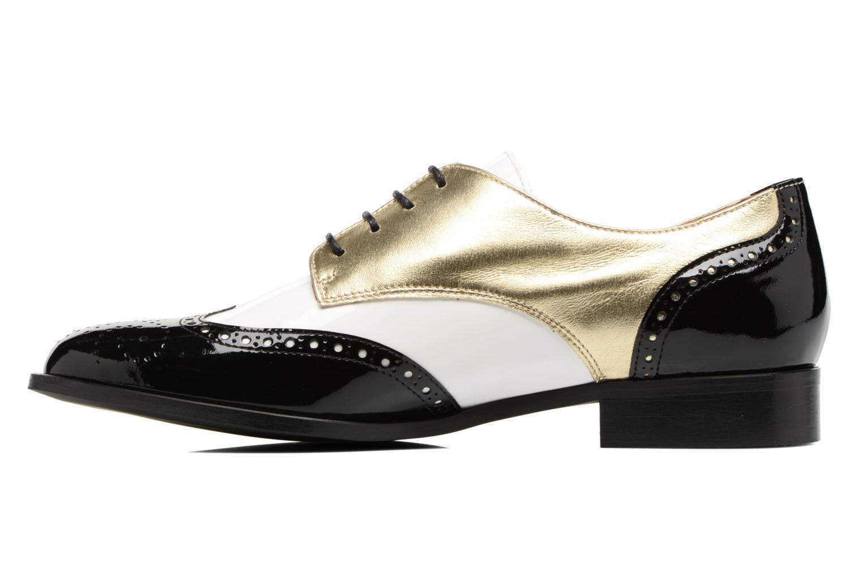 Lace-up shoes Georgia Rose Tritrou Black front view