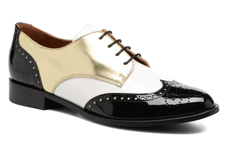 Casual salvaje  Georgia Rose Tritrou (Negro) - Zapatos cómodo con cordones en Más cómodo Zapatos 63f033