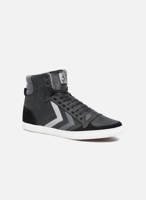cc1c9fce44ba Sneakers Hummel Slimmer Stadil Duo Oiled High Sort detaljeret billede af  skoene