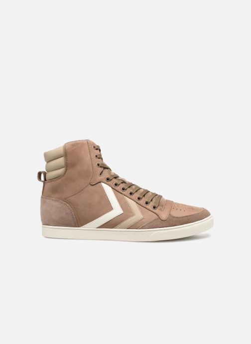 Sneakers Hummel Slimmer Stadil Duo Oiled High Marrone immagine posteriore