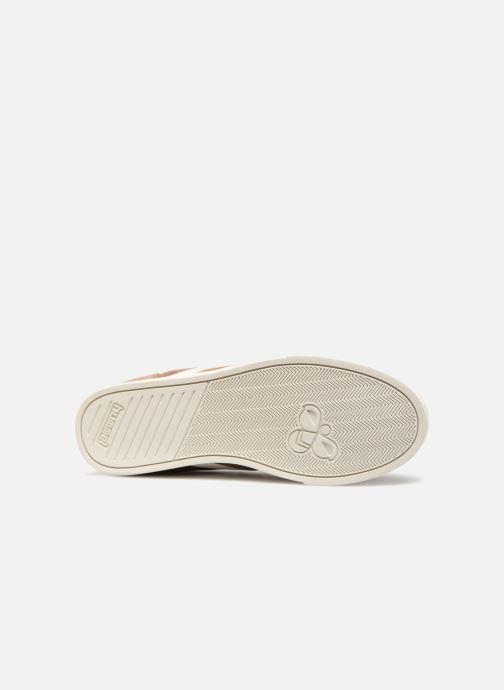 Sneaker Hummel Slimmer Stadil Duo Oiled High braun ansicht von oben