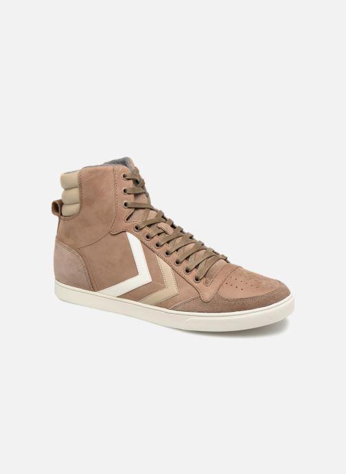 Sneakers Hummel Slimmer Stadil Duo Oiled High Marrone vedi dettaglio/paio